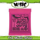 Ernie Ball 2223 Super Slinky Electric Guitar Strings 9-42 Nickel Wound Pink Pack