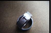 Croix Du seigneur prière acier inoxydable anneau bague ROYAUME-UNI Taille L