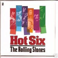 "ROLLING STONES ""Hot Six"" 6 Track Mini LP-CD EXTREM RARE"