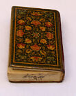 SMALLEST 19c HAND WRITTEN SAHIFEH/KAMELIEH BOOK IN ARABIC SIGNED & DATED