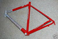 Cycle Concept RR797 Rennradrahmen RH 52 cm rot-silber