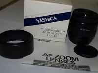 GENUINE YASHICA  KYOCERA AF 28-70mm F3.5-4.5 AUTOFOCUS ZOOM LENS for 300AF 230AF