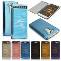 For LG V10 Case Luxury Mirror Clear View Window Slim Protective Smart Flip Cover