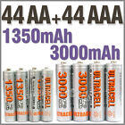 44 AA+44 AAA 1350mAh 3000mAh 1.2V NI-MH rechargeable battery 2A 3A Ultracell