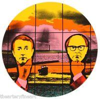 "GILBERT & GEORGE 'Light Headed' Limoges Porcelain 8"" Plate Made in France *NEW*"