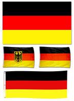 Fahnen Fahne Flagge Deutschland XL bis max. 3 x 5 m Fanartikel WM EM Fußball