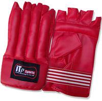 Rex Leather Cut Finger Bag Mitts Kick Boxing Bag Gloves Training Punch Bag