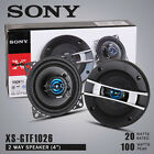 NEW 2012 Sony XS-GTF1026 10CM 2-way Xplod Car Speakers