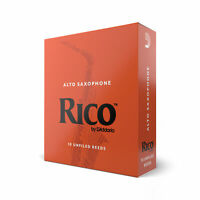 Rico Alto Saxophone Reeds, Strength 2.5, 10-pack