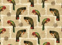 Rossi Parrots and Letters Wrapping Paper