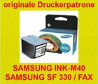 2x Orig. SAMSUNG SF 330 331 335 340 341 345 360 361 365 Samsung Fax NEU OVP