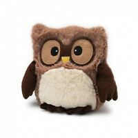 Hooty Owl brown Microwavable - heatable owl Soft Scented toy intelex