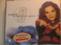 --- JUDITH ---  WE GONNA STAY TOGETHER  MAXI-CD