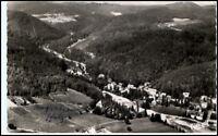 BERGZABERN Pfalz AK 1954 Foto Luftbild Fliegeraufnahme