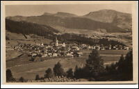 Oberstaufen Bayern alte Ansichtskarte ~1920/30 Allgäu Panoramaansicht ungelaufen