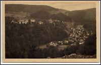 Schwarzburg alte AK Thüringen Thüringer Wald ~1920/30 Gesamtansicht ungelaufen
