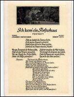 "Lied-AK ca.1955 DDR Liedkarte Musik Foxtrott ""Ich kenn ein Försterhaus"" H. Roth"