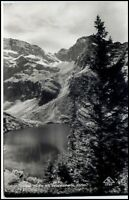 ÖSTERREICH Alpen ~1940 Berge Panorama Blick Obersee Neualmscharte AK ungelaufen