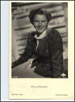 ~ 1950/60 Porträt-AK Film Bühne Theater Schauspielerin PAULA WESSELY Foto-Verlag