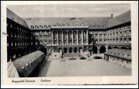 Wuppertal NRW alte Ansichtskarte 1942 gelaufen Partie am Rathaus alte Autos