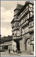 Stolberg Sachsen-Anhalt Harz DDR Postkarte ~1966 Partie am Konsistorium