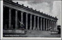 Berlin alte Ansichtskarte ~1940 gelaufen Partie am alten Museum Säulen ansicht