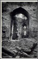 Burgstein Vogtland Sachsen alte Ansichtskarte ~1940 Burgruine ungelaufen