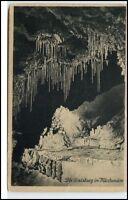 Feengrotten Saalfeld alte Ansichtskarte ~1920/30 die Gralsburg im Märchen-Dom