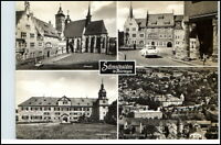SCHMALKALDEN Thüringen DDR Mehrbild-AK Postkarte