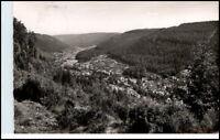 WILDBAD Schwarzwald AK 1956 Sommerberg Blick Enz-Tal