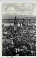 MAINZ 1938 Panorama Totalansicht Dt. Reich Postkarte