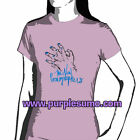 NEW PORNOGRAPHERS:Lavender Hands:Ladies/Girls Shirt NEW:Size 8