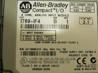 Allen Bradley CompactLogix 1769-IF4/B Analog Input Module, Nice Used Tested