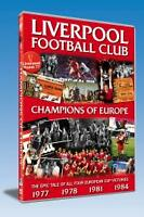 Liverpool FC - Champions Of Europe 1977 1978 1981 1984 (2- DVD Set) NEW SEALED