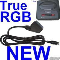 RGB Scart Cable TV AV Lead for Sega Megadrive II 2  High Quality DOUBLE SCREENED