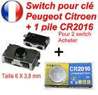 Interruttore pulsante chiave telecomando sistema keyless Peugeot 106 206 306 307