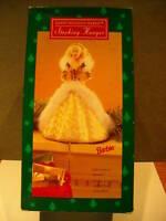 1995 Hallmark Happy Holidays Barbie Stocking Hanger