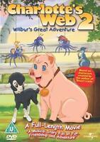 Charlotte's Web 2 - Wilbur's Great Adventure [DVD] [2002], New DVD, Julia Duffy,