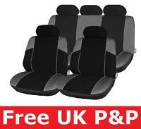 Car Seat Covers Protector Black & Grey for HYUNDAI TERRACAN 2003> C45