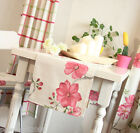 Rural Style Home Decoration Grid/Flowers Cotton Table Cloth / Cover 30cm X 150cm