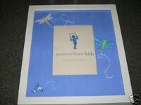 "Pottery Barn Kids Embroidered Photo Frame 5""X7"" New"