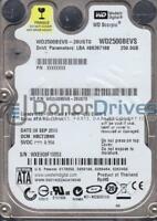 WD2500BEVS-26UST0, DCM HBCT2BNB, Western Digital 250GB SATA 2.5 Hard Drive