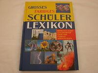 Großes farbiges Schülerlexikon