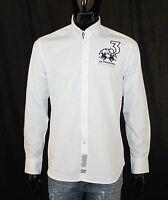 Neu La Martina Herren Hemd Top Pullover Weiß Poloshirt Top Gr. S M L XL 2XL 3XL