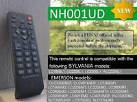 (NEW) REMOTE CONTROL UNIT / SYLVANIA / Emerson / NH001UD