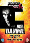Jean-Claude Van Damme Collection - In Hell/The Order/Wake Of Death (DVD, 2007, 3-Disc Set, Box Set)
