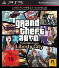 Grand Theft Auto: Episodes From Liberty City (Sony PlayStation 3, 2010, DVD-Box)