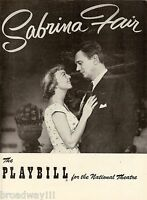 """Margaret Sullavan """"SABRINA FAIR"""" Joseph Cotten / Cathleen Nesbitt 1953 Playbill"""