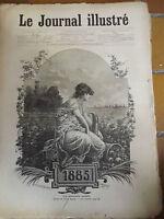 26 numeros du Journal Illustré de 1885