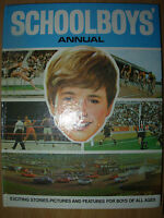 VINTAGE CHILDRENS SCHOLBOY'S ANNUAL 1969 GOOD CONDITION NOT PRICE CLIPPED